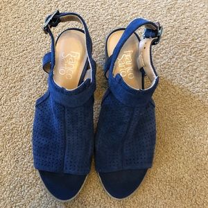 Franco Sarto Hartlet2 Leather Mules